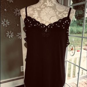 Lane Bryant lace cami black 18/20